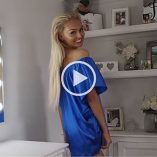 Misha Grimes Satin Video