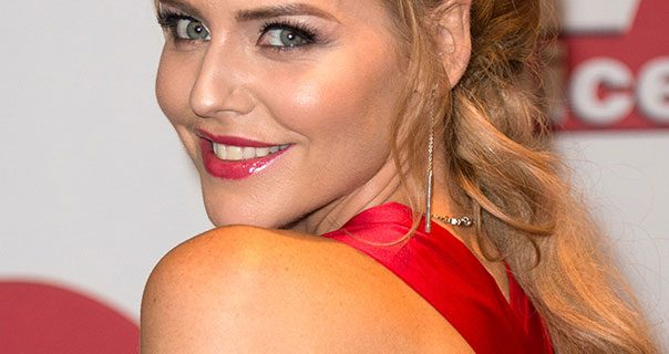 Stephanie Waring 2017 TV Choice Awards