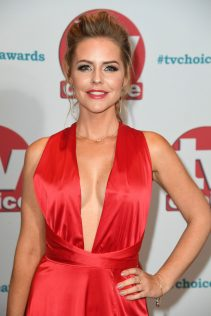 Stephanie Waring 2017 TV Choice Awards 7