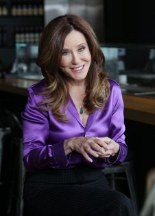 Mary McDonnell Extra Interview Photoshoot 4
