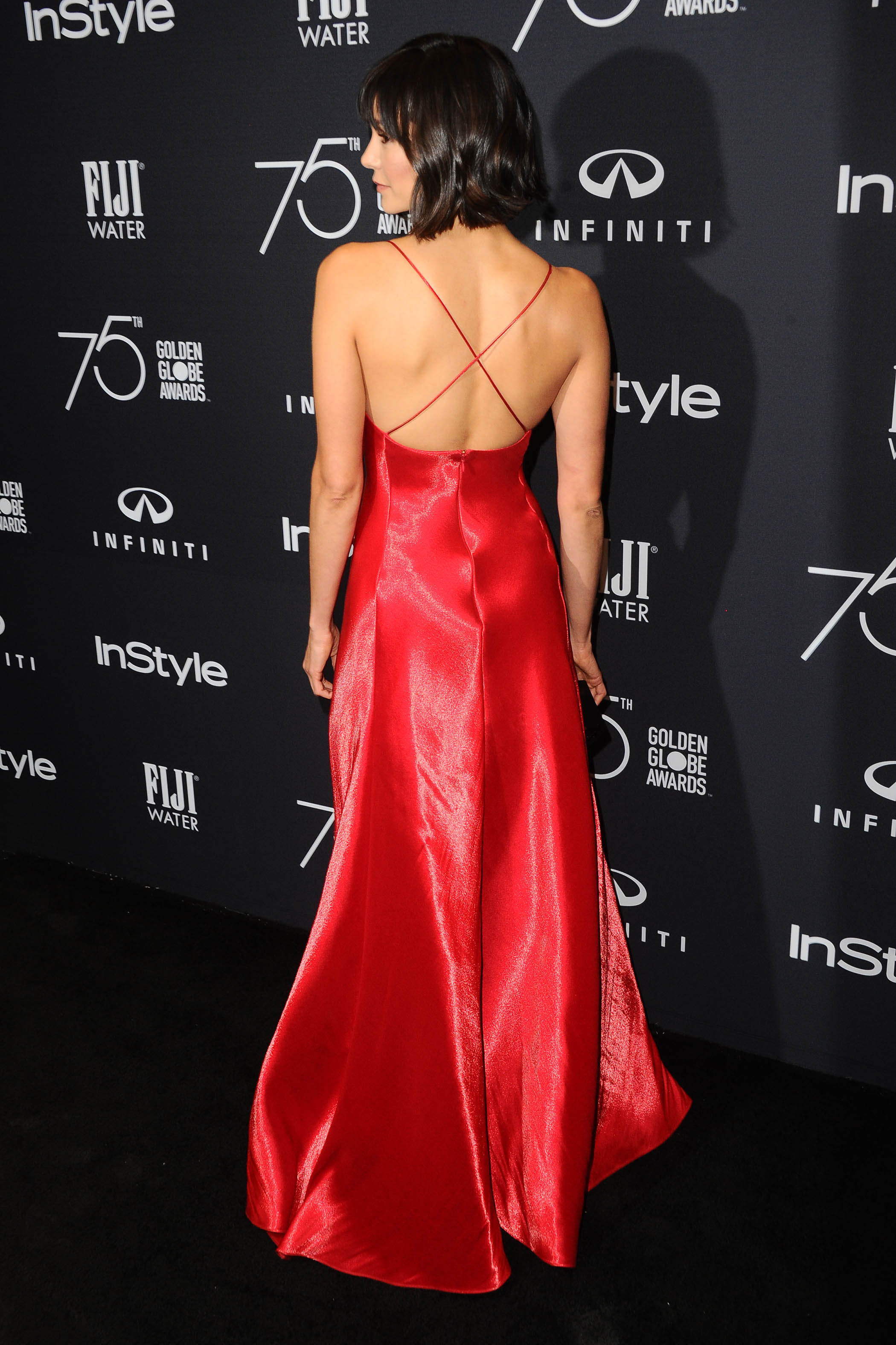 Nina Dobrev 75th Golden Globe Awards Anniversary 2