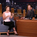 Emma Watson Jimmy Fallon Show 27th April 2017 4