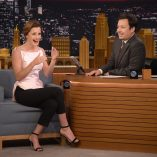 Emma Watson Jimmy Fallon Show 27th April 2017 7