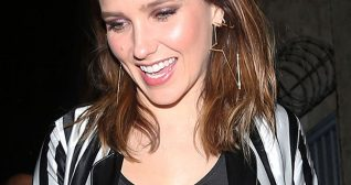 Sophia Bush Mr Chow's Restaurant