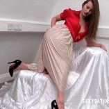Sexy Satin Silk Fun February 2018 10