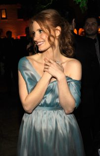 Jessica Chastain The Hollywood Reporter's Nominees Night 2012 17