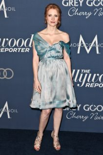 Jessica Chastain The Hollywood Reporter's Nominees Night 2012 3