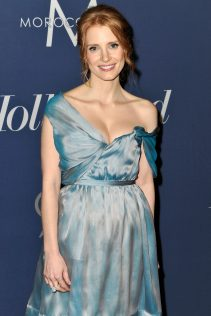 Jessica Chastain The Hollywood Reporter's Nominees Night 2012 7
