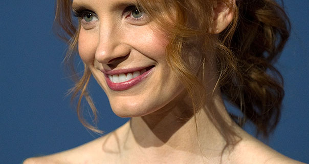 Jessica Chastain The Hollywood Reporter's Nominees Night 2012