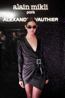 Lily Aldridge Alain Mikli x Alexandre Vauthier Launch Party 1