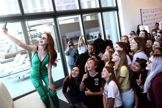 Madelaine Petsch Prive Revaux Sunglass Launch 5