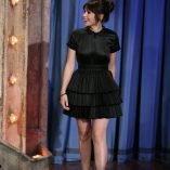 Felicity Jones Late Night With Jimmy Fallon 15th November 2011 2