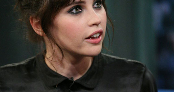 Felicity Jones Late Night With Jimmy Fallon 15th November 2011