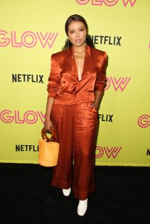 Kat Graham Glow 10 Emmy Celebration 3