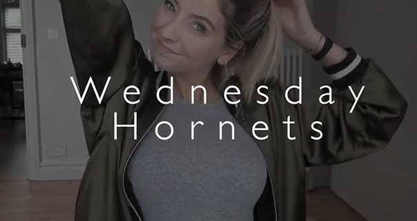 Zoella Wednesday Hornets