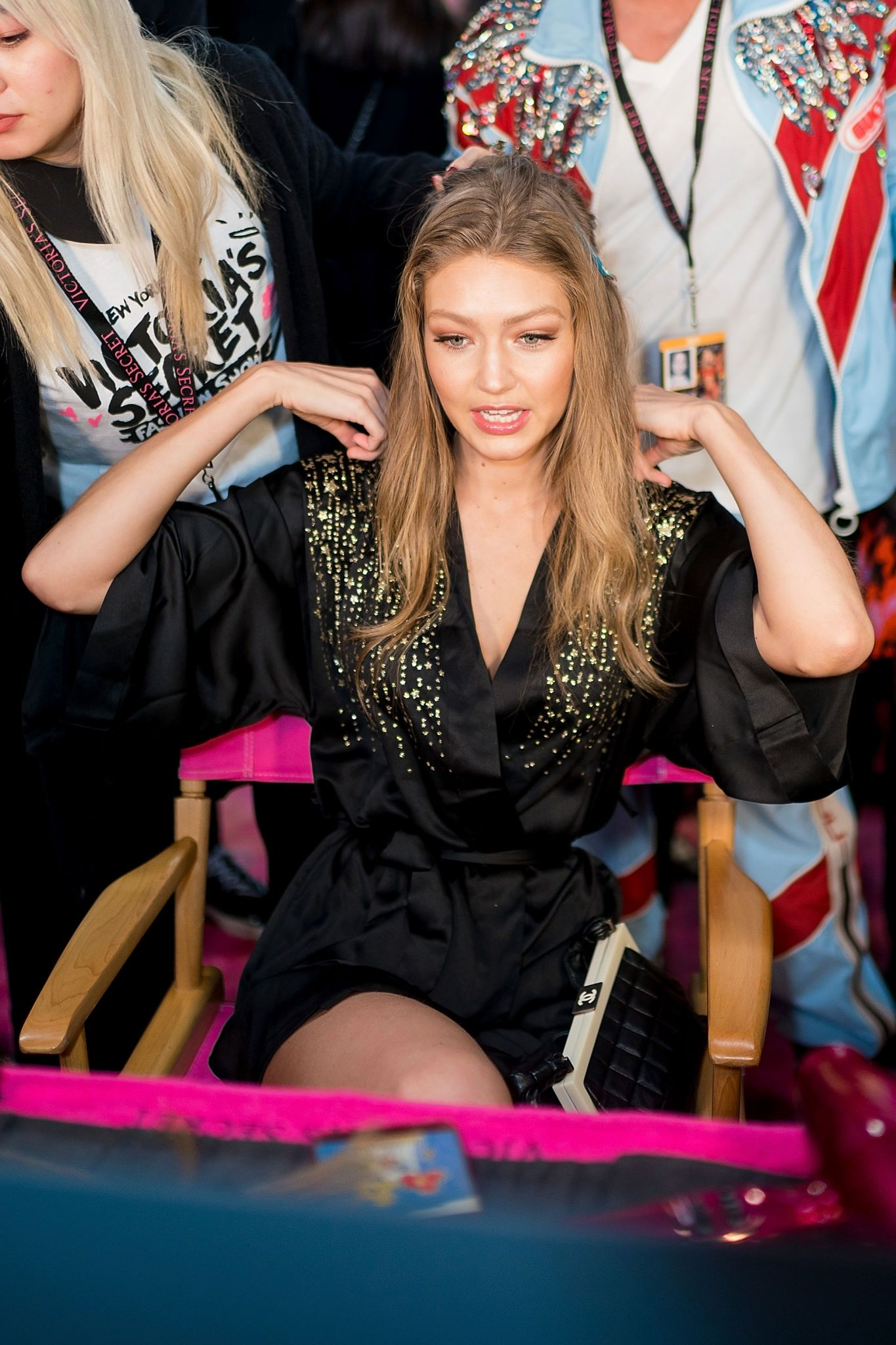Gigi Hadid 2018 Victoria's Secret Fashion Show 1 | Satiny