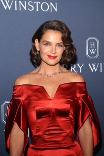 Katie Holmes Harry Winston New York Collection 1
