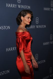 Katie Holmes Harry Winston New York Collection 13
