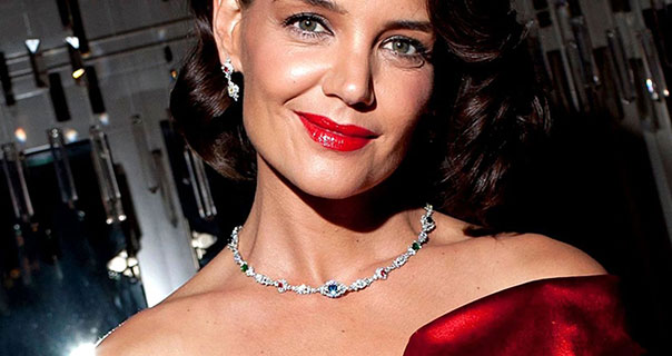 Katie Holmes Harry Winston New York Collection