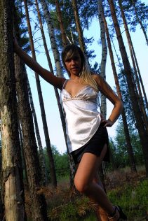 Only Satin Sophie Forest 1