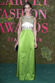 Alison Brie 2018 Green Carpet Fashion Awards Italia 3