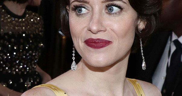 Claire Foy 76th Golden Globe Awards