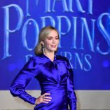 Emily Blunt Mary Poppins Returns Premiere 16