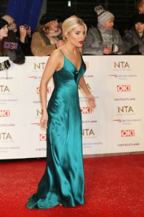 Mollie King 2019 National Television Awards 2