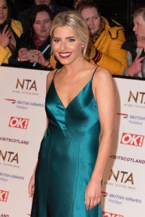 Mollie King 2019 National Television Awards 8