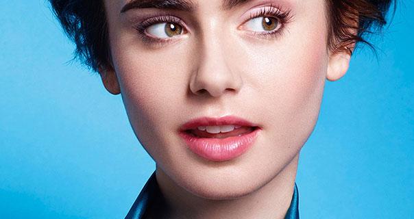 Lily Collins Lancome 2015