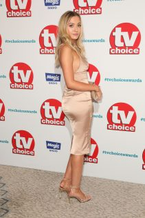 Tilly Keeper 2018 TV Choice Awards 1