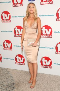 Tilly Keeper 2018 TV Choice Awards 4