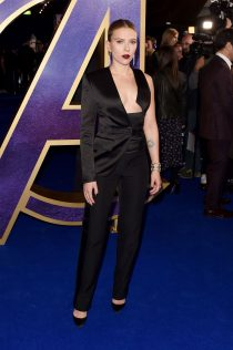 Scarlett Johansson Avengers Endgame UK Fan Event 1