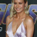 Brie Larson Avengers Endgame Premiere 6