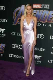 Brie Larson Avengers Endgame Premiere 9