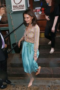 Katie Holmes New York City 22nd April 2019 42