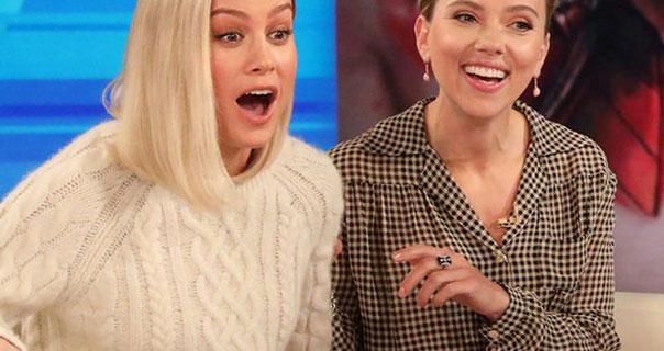 Scarlett Johansson The Ellen DeGeneres Show 23rd April 2019