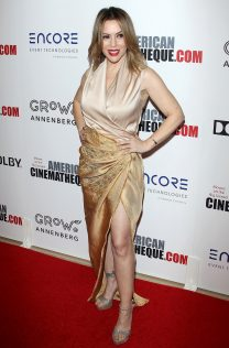 Alyssa Milano 32nd American Cinematheque Award Presentation 6
