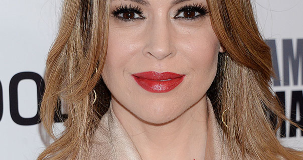 Alyssa Milano 32nd American Cinematheque Award Presentation