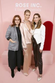 Rosie Huntington-Whiteley Rose Inc bareMinerals Beauty Master Class 15