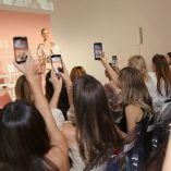 Rosie Huntington-Whiteley Rose Inc bareMinerals Beauty Master Class 21