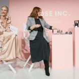 Rosie Huntington-Whiteley Rose Inc bareMinerals Beauty Master Class 23