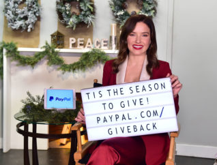 Sophia Bush Paypal Giving Tuesday 2