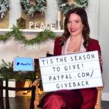 Sophia Bush Paypal Giving Tuesday 3