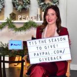 Sophia Bush Paypal Giving Tuesday 4