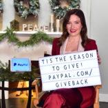 Sophia Bush Paypal Giving Tuesday 5