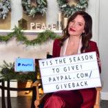 Sophia Bush Paypal Giving Tuesday 7