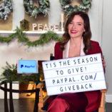 Sophia Bush Paypal Giving Tuesday 8