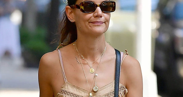 Katie Holmes New York City 23rd September 2019