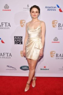 Joey King 2020 BAFTA Los Angeles Tea Party 12
